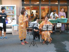 職員による三線&沖縄民謡ライブ♫