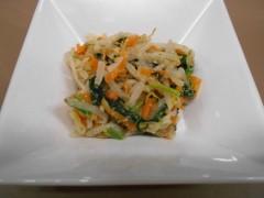 弐番館きざみ食(^O^)お野菜たっぷりです!