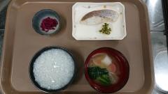 弐番館1日の朝食☆お雑煮にはやわらか福餅使用♪