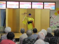 琉球舞踊かぎやで風・祝宴の始まりです♡