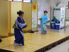 秋の踊り☆お着物も美しい(^o^)